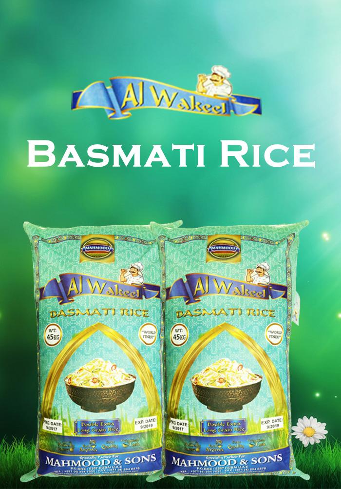 al-wakeel Basmati Rice